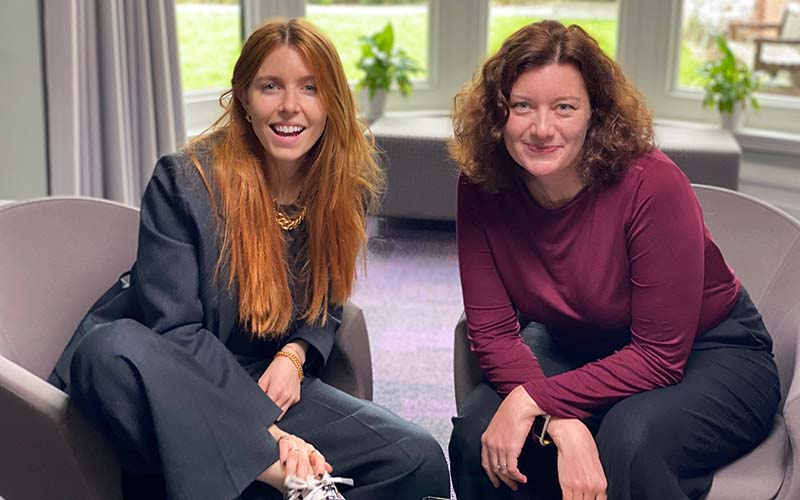 Stacey Dooley and Turi King